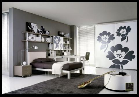 Camera da letto ragazzo laccata opaco design casa for Idee camera ragazzo