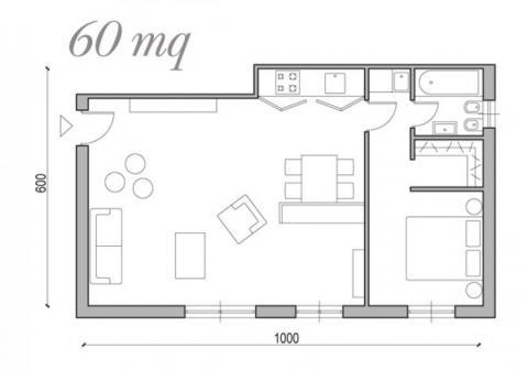 Casa moderna roma italy arredare un piccolo appartamento - Idee per ristrutturare un appartamento ...