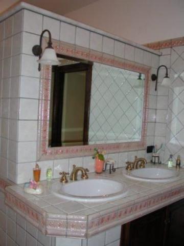 Pin bagno in muratura forno arredamenti muri on pinterest for Articoli bagno