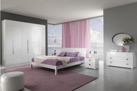 colori della camera da letto moderna poosono essere il fiore all ...