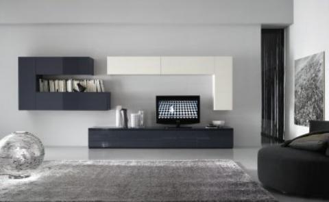 Casa moderna, roma italy: mobile salotto moderno