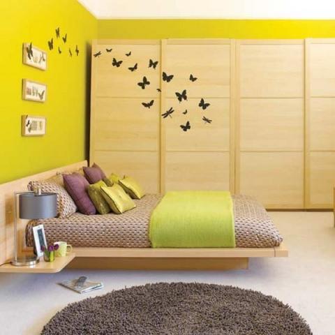 Colori pareti camera letto colori tenui per il relax - Colori pareti camera da letto classica ...