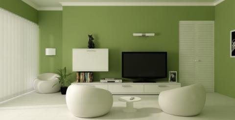 Dipingere Soggiorno : Dipingere un soggiorno moderno colori e complementi d arredo