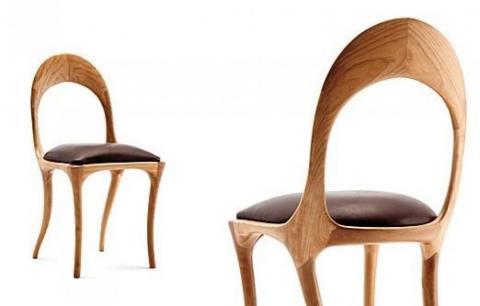 Sedie di design per un appartamento elegante e moderno - Sedie in legno design ...