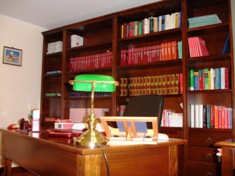 Idee per arredare uno studio elegante e personalissimo - Arredare studio in casa ...