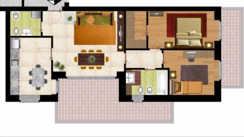 Arredare trilocale 90 mq trucchi per ottimizzare spazio e for Arredare casa moderna 80 mq