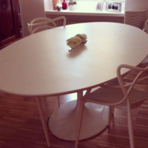 Tavolo Ovale Saarinen. Dining Table Wooden Marble Granite Knoll ...