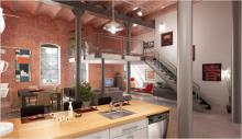 Come arredare un loft: luce e open space