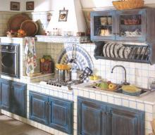 Cucine in muratura: bellezza, tradizione, calore