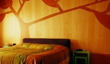 Dipingere casa: la pittura in una camera da letto moderna